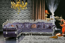 DXY2015 arab style a round the corner fabric livingroom sofa