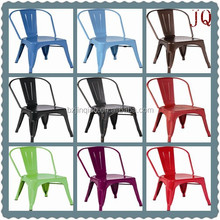 2015 leisure metal/steel chair dining chair