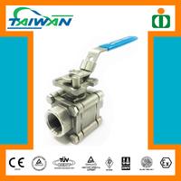"Taiwan High quality 12"" pvc ball valvee, sankyo ball valve, ball valve with key"