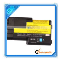 6cell 10.8V 5200mAh Laptop Battery For IBM T20 T21 T22 T23 Black (N7416)