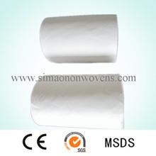 supply viscose/polyester fiber disposable towels spunlace for wet tissue
