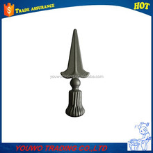 wrought iron spears / decorative cast iron / cast steel spears