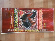 China supplier custom artwork polypropylene woven bag for packing feed