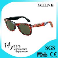 Cheap Promotiona gift designer promotional logo lens pinhole glasses