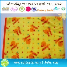 Contemporary promotional fleece fabric sheep