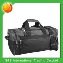 Durable gym bag large space sport duffer foldable travel bag