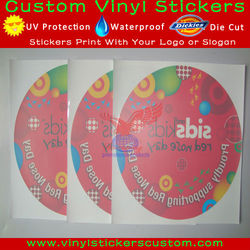 reverse window static cling decals