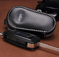 New Noble Design Leather car Key Wallet , Auto key ring /chain for car key