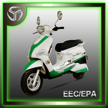 vespa style electric motorcycles/scooter of 1200w with EEC and DOT YB1200DQT-B