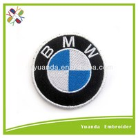 Customized embroidery designs patch toyota emblem