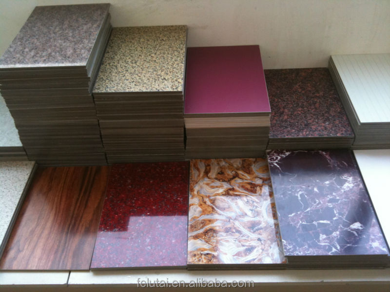 Decorative Exterior Cement Board : Uv coating fiber cement board fluorocarbon paint panel