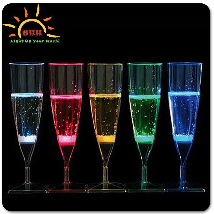 New Wedding Favor Ideas 2015 : 2015 Wedding Favor Party Supplies New Product Led Champagne Flutes ...