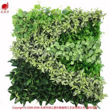 High quality mini artificial flowers green wall vertical garden