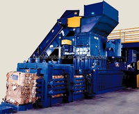 Engineers available to service machinery overseas!!! Automatic waste paper baler
