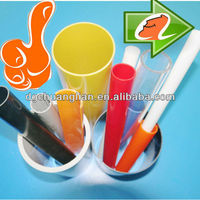 CHEAP but good quality eco friendly 50mm plastic tube with 1.5/ 2 /2.5/4mm wall