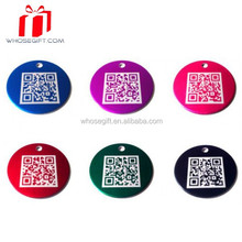 Hot!!!stainless Steel Qr Code Dog Tag With Custom Logo