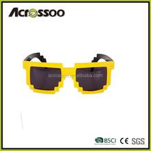 pixel 8 bit sunglasses 8-bit sunglasses New Personalized Cheap Wayfarer Neon Plastic pixel Sunglasses