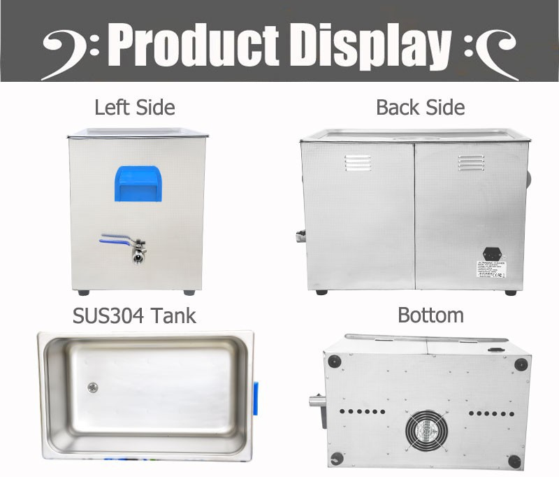 product gs l large industry ultrasonic cleaner medical lab cleaning tattoo instruments vgt qtd