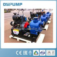 non-blog centrifugal self priming sewage pumps