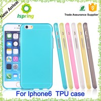2015 high quality for blank iphone case, tpu soft protective for iphone 5 6 case