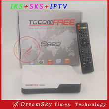 Tocomfree S929 Receptor with Twin Tuner SKS,IKS Free with wifi ,3G,Youtube function for South America