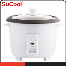 0.4L mini drum rice cooker with glass cover