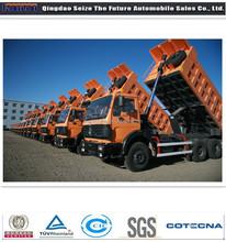 Beiben 30ton 6X4 dump truck loading capacity for hot sale