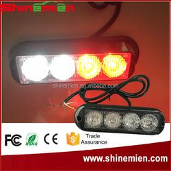 12V Vehicle Mini Surface Mount Directional Strobe Lighthead All Emergency Vehicle and Led Flashing Light