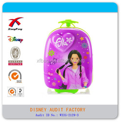 Hottest 3D Print EVA Kids Trolley School Bag ,girl's trolley bag