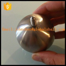 Diameter 30mm M8 threaded Stainless Steel Ball with hole