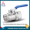 india brass ball valve italy NPT threaded connection eith blasting cw 617n material with electric valve control