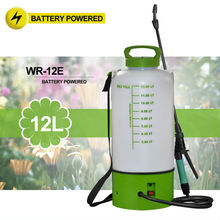 (1039) on wheels 2 and 3 Gal portable garden 12v sprayer pump