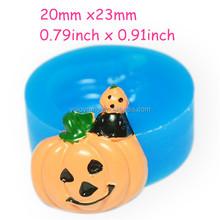 JYL097 Pumpkin Halloween Flexible Silicone Mold Decoden Kawaii Sweets Resin Fimo Polymer Clay Sculpey Wax Soap Fondant Cabochon