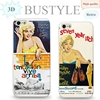 2015 New Case 3D Sexy Girl Marilyn Monroe Classics Style Embossment Effect for Apple iPhone 4 5 6 plus Mobile Phone Case