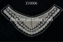 Fashion Beautiful Beads Guipure lace garment accessory & wedding dress collar