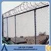 9 gauge hot dip galvanized wire 50x50mm mesh chain link fence 6ft rolls