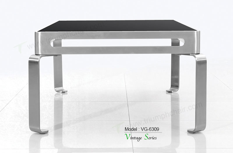 triumph moderne salon table basse salon meubles design th de table en acier inoxydable jambes. Black Bedroom Furniture Sets. Home Design Ideas