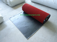Hard wearing rubber backed carpet Various Styles Customized advertising carpet