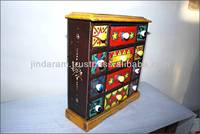 Wooden Spices Cabinet - 6 drawers
