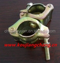 Galvanized Korean pressed double tube coupler