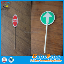 Customized High quality metal traffic safety sign board/plastic sign board material/ road sign making