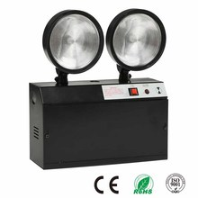 Black Body Emergency Light 20 LED Twin Spot Lamp For Government Building