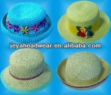 JEYA lovely beautiful knit children hat with flower