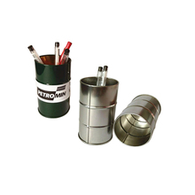 promotion gift metal pencil holder with client design