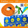 25FT blue, green expandable fabric hose with sprayer as seen on TV