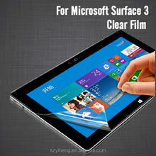 3 Layers PET Clear Screen Protector for Microsoft Surface 3 Screen Film