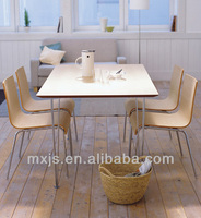 2014 hot sale wooden dinning table modern restaurant furniture