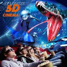 China Manufacturer Latest Technology 5D Cinema Movie Made By Guangzhou LongZe