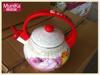 2.5L Enamel tea Kettle/Whistle Ketlte full decor Whistle Teapot/Porcelain whistle teapot