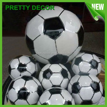 Stainless Steel Football Outdoor Decoration Football in Metal